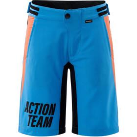 Cube Junior Shorts Baggy Incuye Culotte Corto Interior Niños, azul/negro